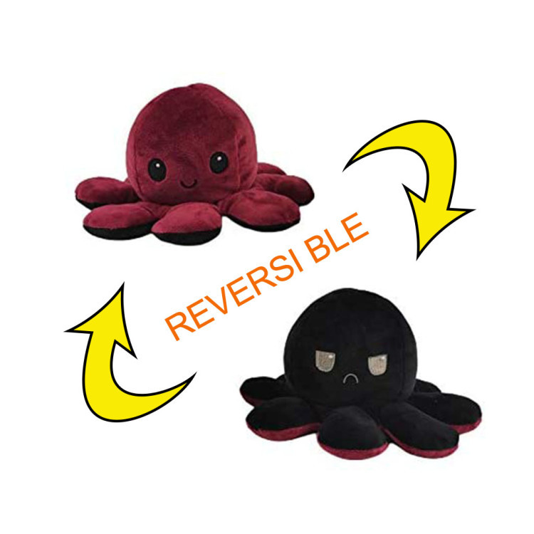 Limited Edition Black Out Octopus Plushie