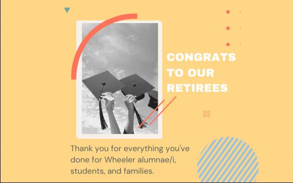 2021 Retiring Faculty